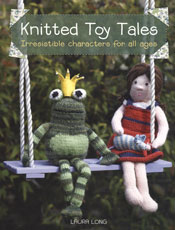 Knitted Toy Tales by Laura Long book cover image