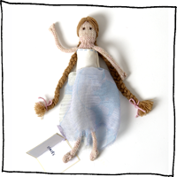 Rapunzel doll by Laura Long