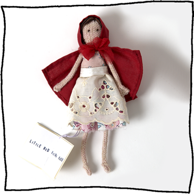 Little Red Riding Hood doll by Laura Long