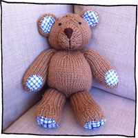 first teddy by Laura Long