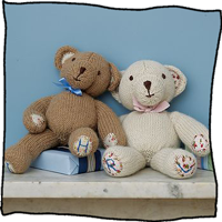 Personalised Teddy by Laura Long